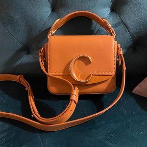 Chloe C mini leather bag